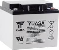 Yuasa REC50-12 YUAREC5012 Ólomakku 12 V 50 Ah Ólom-vlies (AGM) (Sz x Ma x Mé) 197 x 175 x 165 mm M5 csavaros csatlakozó Yuasa