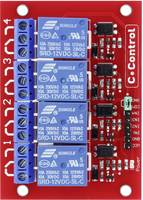 Relés panel, 4 részes, C-Control (CC-4466544) C-Control