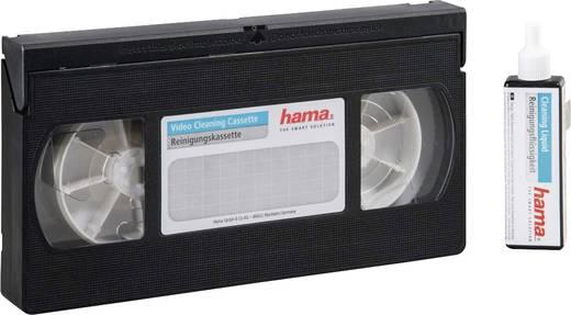 VHS, S-VHS Video tiszítókazetta tisztító folyadékkal Hama 00044728