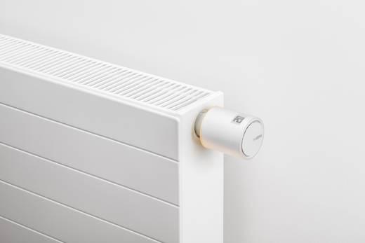 Vezeték nélküli radiátor termosztát, fűtésvezérlő készlet Android és Apple iOS készülékekhez 5 - 30 °C Netatmo NVP01-DE