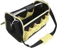 Szerszámos táska, munkás szerszámtáska, vállra akasztható, 470 x 250 x 250 mm VISO TOOLBOX VISO