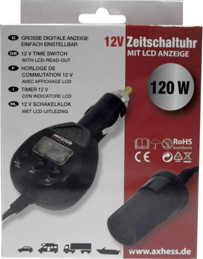 Autós időkapcsoló, szivargyújtós, 12 V, Profi Power 2.440.007