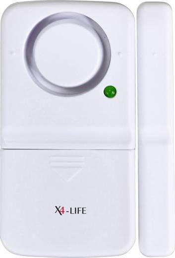 Ajtó- és ablak riasztó, 110 dB, X4-LIFE 701529