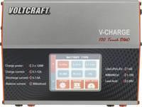 Multifunkciós modell akkutöltő 12 V/230 V 12 A LiPolimer/Lítiumion/LiFe/NiCd/NiMH/Ólom VOLTCRAFT V-Charge 120 Touch Duo VOLTCRAFT
