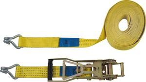 Kétrészes racsnis rögzítő heveder 10 m x 50 mm, 2500/5000 kg, Petex 43193019 Petex