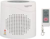Elektronikus házőrző, kutyaugatás hangutánzó házi riasztó, távirányítóval, 120 dB, Sygonix Sygonix