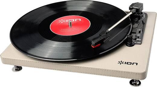 USB-s bakelit lemezjátszó beépített digitalizálóval, krémszínű ION Audio Compact LP Cream