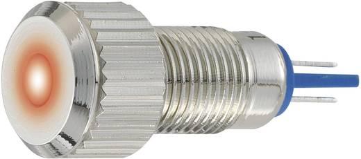 LED-es jelzőlámpa, vandálbiztos piros 24 V GQ8F-D/R/24V/N