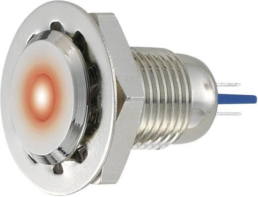 LED-es jelzőlámpa, vandálbiztos zöld 12 V GQ12F-D/G/12V/N