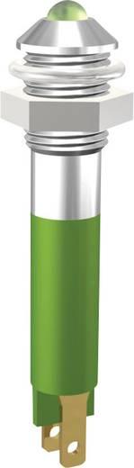 LED jelzőlámpa 3mm 24V zöld Signal Construct SMQD06214