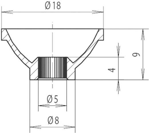 Izzó és LED reflektor Ø 5 mm, Mentor 2451.5100