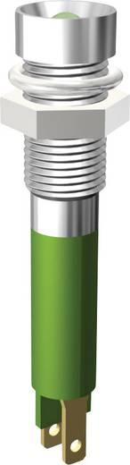 LED jelzőlámpa 3mm 24V zöld Signal Construct SMZD06214