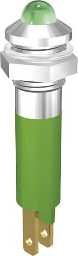 LED jelzőlámpa 5mm 12V zöld Signal Construct SMQD08222