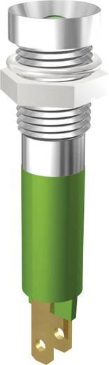 LED jelzőlámpa 3mm 24V zöld Signal Construct SMZD08224