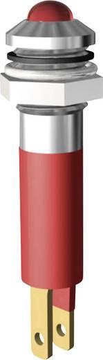 LED jelzőlámpa 5mm 230V piros Signal Construct SWQU08028CR