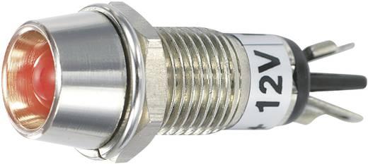 LED-es jelzőlámpa 12 V/DC, Ø 5 mm, piros, SCI R9-115L