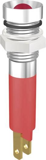 LED jelzőlámpa 5mm 230V piros Signal Construct SWZU08028CR