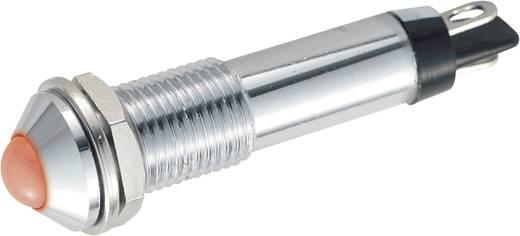 LED Jelzőlámpa 10 mm fehér 12VDC BD 0802
