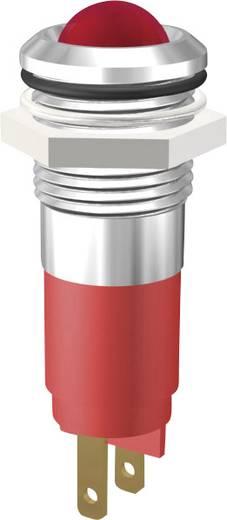 LED jelzőlámpa piros 230V 10mm