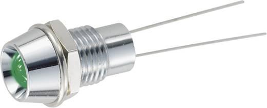 Jelzőlámpa LED 5 mm kék 2500 mcd
