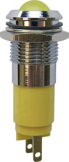 LED jelzőlámpa sárga 230V 10mm