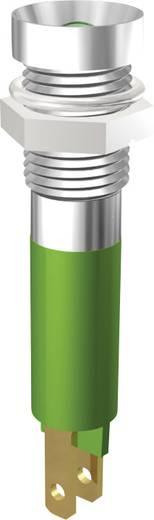 LED jelzőlámpa 5mm 12V zöld Signal Construct SMZD08222
