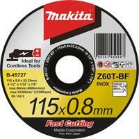 Makita B-45727 Vágótárcsa, egyenes 115 mm 22.23 mm 1 db Makita