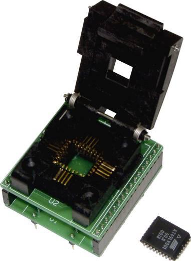 Adapter GALEP-hez, kivitel: 28 pólusú DIL-ről 32 pólusú PLCC EPROM-ra, Conitec 210843