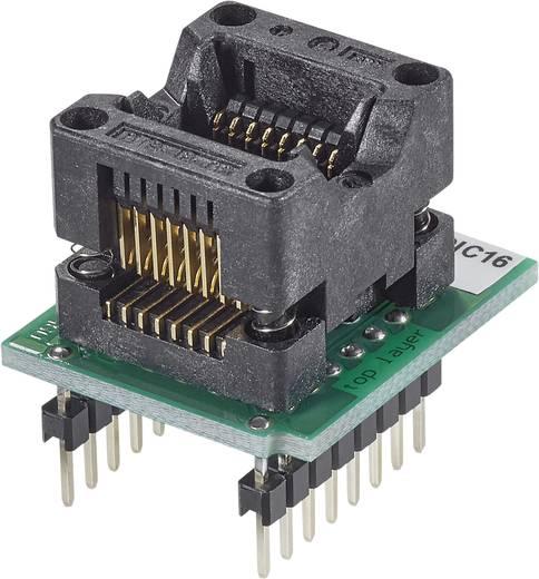 Adapter ELNEC® programozóhoz, kivitel: DIL16/SOIC16 ZIF 150 mil = DIL16W, Elnec 70-0074 = 70-0903