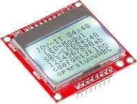 Joy-it SBC-LCD84x48 Kijelzőmodul 6.8 cm (2.67 coll) 84 x 48 pixel Alkalmas: Raspberry Pi, Banana Pi, Arduino, Cubieboard Joy-it
