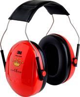PELTOR Fejpántos, kapszulás hallásvédő fültok, zajcsillapító fülvédő gyerekeknek 27dB Peltor KID Princess 7100021197 (H510AK-613-RD 949) 3M Peltor