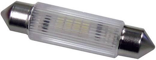 LED-es szofita izzó (4 chip) 12 V, 0,25 W, melegfehér, Signal Construct MSOG113952