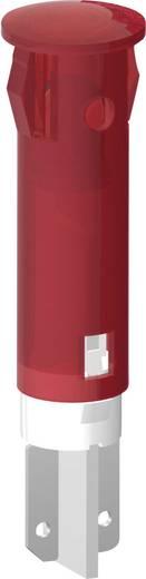 Szimbólumos jelzőlámpa 12-24 V, Ø 5 mm, piros, kör, Signal Construct SKGD05002