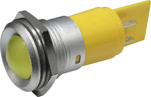 LED-es jelzőlámpa 230 V/AC, Ø 22 mm, sárga, CML 195E2232M