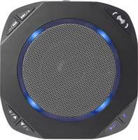 Bluetooth hangszóró, konferencabeszélgetés kihangosító, fekete, Renkforce SE-BT-SSP-02 Renkforce
