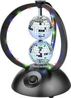 Renkforce ODN-143 LED (RGB) Diszkógömb 179 mm (RF-3301484) Renkforce
