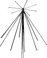 Albrecht 6161 Sky Band SE 900 Rádiószkenner állomás antenna Albrecht