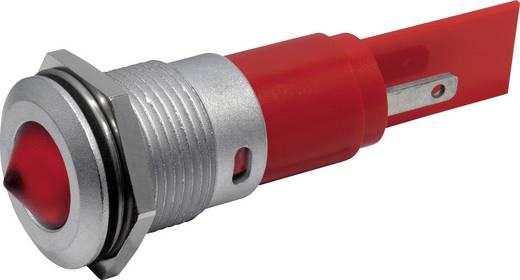 LED-es jelzőlámpa IP67 16 mm fehér 230 VAC CML 1942223WM