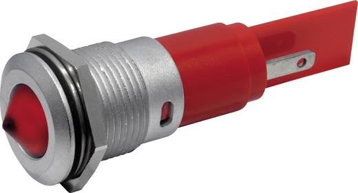 LED-es jelzőlámpa IP67 16mm sárga 230 VAC CML 19422232M