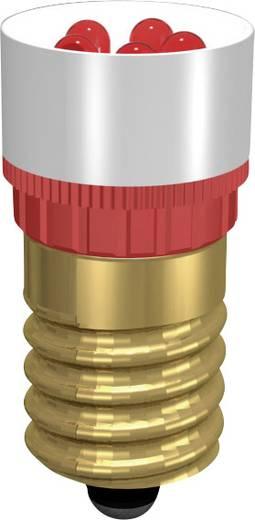 LED fényszóró, Signal Construct MCPE145368, 230 V DC/AC, foglalat: E14, piros
