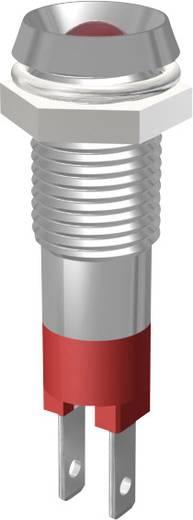 LED jelzőlámpa fehér 8 MM
