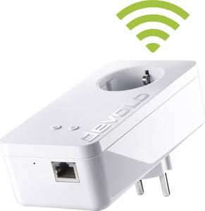 Powerline WLAN, konnektoros internet átvivő bővítő egység 500 Mbit/s, Devolo dLAN 550+ WiFi Devolo