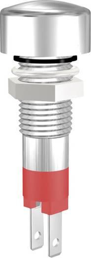 LED-es jelzőlámpa, IP67, piros, 12 V, 08012