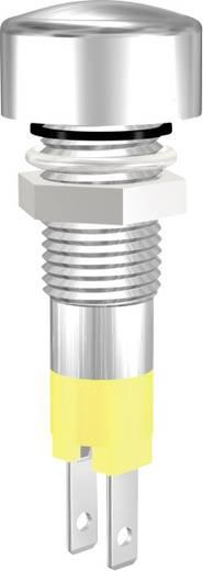 LED-es jelzőlámpa, IP67, sárga, 12V, 08112