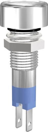 LED-es jelzőlámpa, IP67, kék, 12 V, 08412