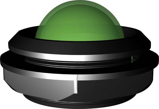 Jumbo LED-es jelzőlámpa 12-14 V, Ø 20 mm, ultra zöld, Signal Construct LDC20722