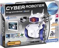 Játékrobot építőkészlet, bluetooth, iOS, Android alkalmazással vezérelhető Clementoni Galileo Cyber Roboter 69381 Clementoni