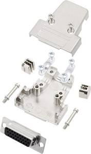 encitech TRI-M-15-HDS26-K D-SUB hüvelyes kapocsléc készlet 180 ° Pólusszám: 26 Forrasztókehely 1 készlet encitech