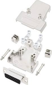 encitech TRI-M-25-HDS44-K D-SUB hüvelyes kapocsléc készlet 180 ° Pólusszám: 44 Forrasztókehely 1 készlet encitech