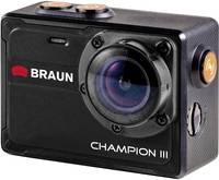 Braun Germany Champion III Akciókamera Vízálló , 4K, WLAN Braun Germany